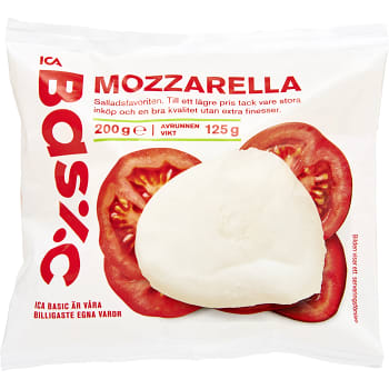 ica basic mozzarella