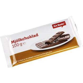 Mjölkchoklad 100g ICA Basic
