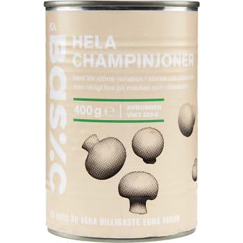 Champinjoner Hela 400g ICA Basic