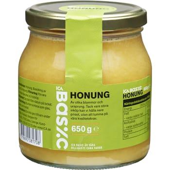 Honung 650g ICA Basic