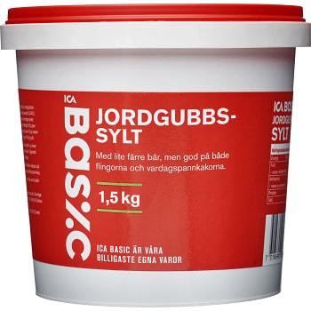 Jordgubbssylt 1,5kg ICA Basic