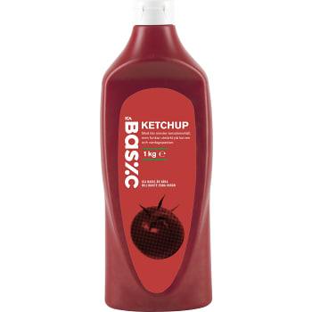 Ketchup 1kg ICA Basic