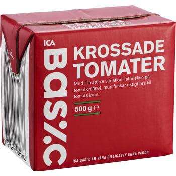 Krossade Tomater 500g ICA Basic