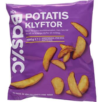 Potatisklyftor Fryst 1kg ICA Basic