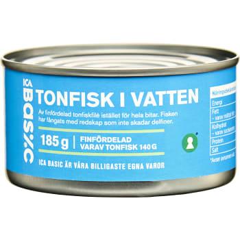 tonfisk på burk ica