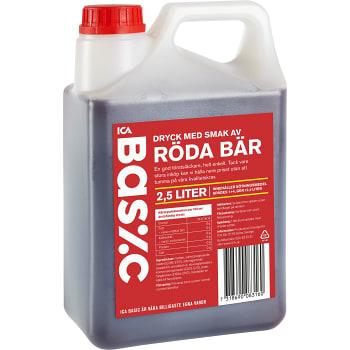 Saft Röda bär 2,5l ICA Basic