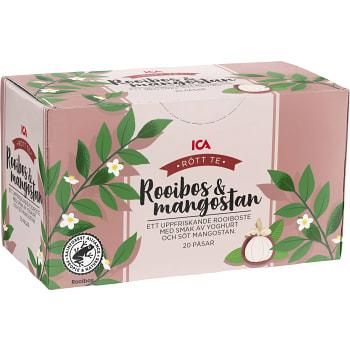 Rooibos te Mangostan & yoghurt 20-p ICA