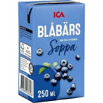 Blåbärssoppa 250ml ICA