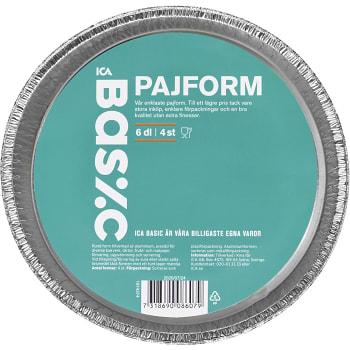 Pajform 6dl 4-p ICA Basic