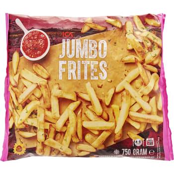 Jumbo frites Fryst 750g ICA