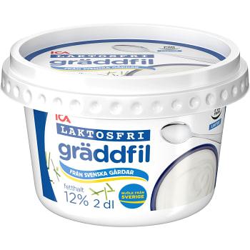 Gräddfil Laktosfri 12% 2dl ICA