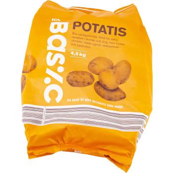 Potatis 4,5kg ICA Basic