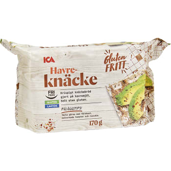 Havreknäcke Glutenfri 170g ICA