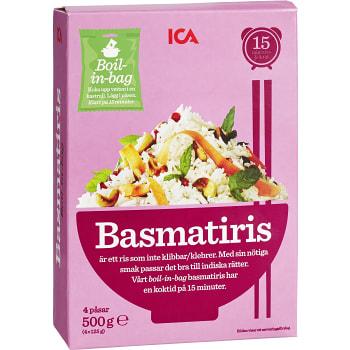 Basmatiris 500g ICA