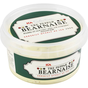 Tre peppar Bearnaise 200g ICA Selection