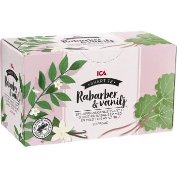 Rabarber & vanilj te 20-p ICA
