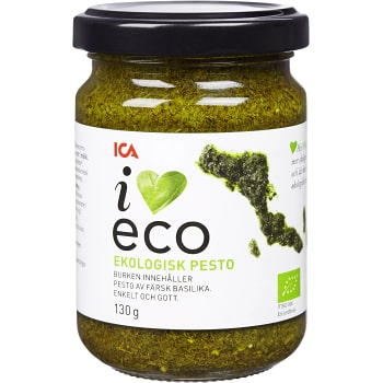 Pesto Ekologisk 130g ICA I love eco