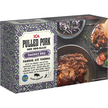 Pulled pork 550g ICA