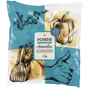 Potatis Amandine 2kg Klass 1 ICA