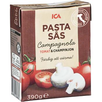 Pastasås Tomat och champinjon 390g ICA