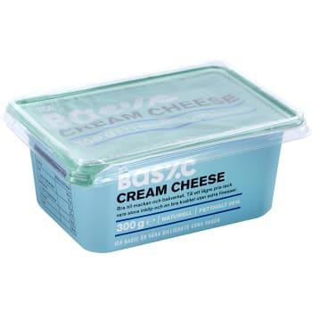 Cream cheese Naturell 300g ICA Basic