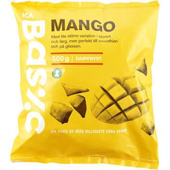 Mango Bitar Fryst 500g Ica Basic