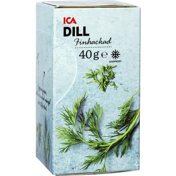 Dill Finhackad Fryst 40g ICA