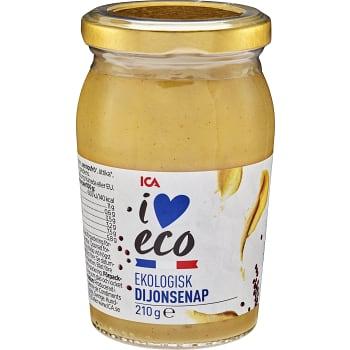 Dijonsenap Ekologisk 210g ICA I love eco