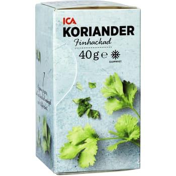 Koriander Finhackad Fryst 40g ICA