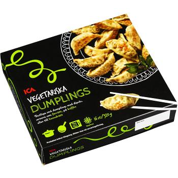 Djupfrysta Vegetariska Dumplings 320g ICA