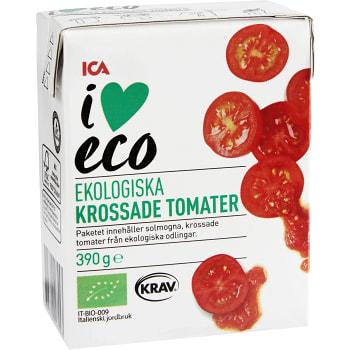 Krossade Tomater 390g KRAV ICA I love eco