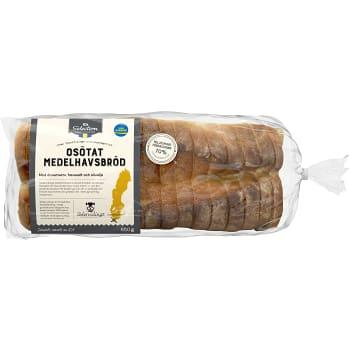 Medelhavsbröd Osötat 650g ICA God smak från