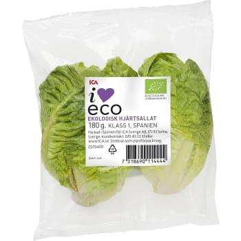 Hjärtsallat Ekologisk 180g ICA I love eco