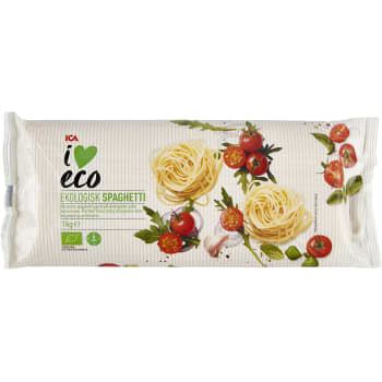 Spaghetti Ekologisk 1kg ICA I love eco