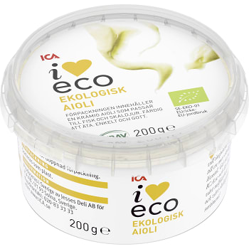 Aioli 200g KRAV ICA I love eco