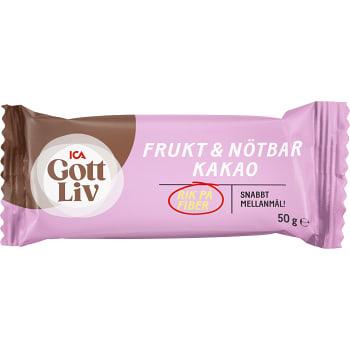 Frukt och nötbar Kakao 50g ICA Gott Liv