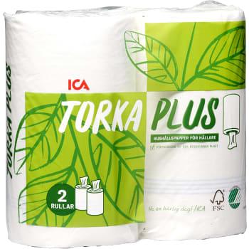Hushållspapper Torka plus 2-p ICA