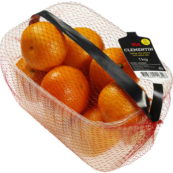 Clementiner i korg 1kg Klass 1 ICA