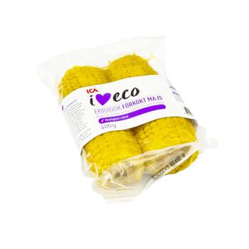 Förkokt majs 2-p 400g ICA I love eco
