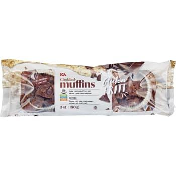 Chokladmuffins G-fri 180g ICA