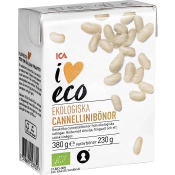 Cannellinibönor Ekologisk 380g ICA I love eco