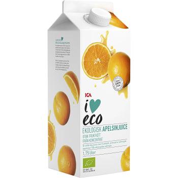 Apelsinjuice 1,75l KRAV ICA I love eco