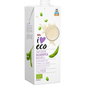 Sojadryck 1L Ekologisk ICA I love eco