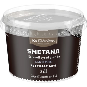 Smetana 42% Laktosfri 2dl ICA Selection