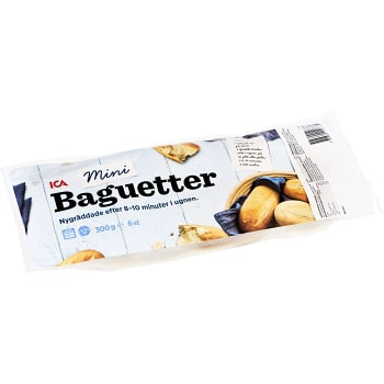 Minibaguetter 6-p 300g ICA
