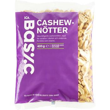 Cashewnötter 400g ICA Basic