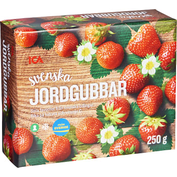 Svenska Jordgubbar 250g ICA