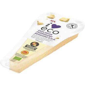 Parmigiano Reggiano 15 mån Ekologisk 150g ICA i love eco