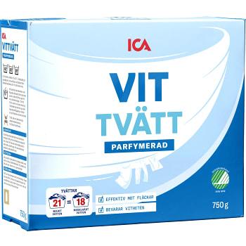 Tvättmedel Vittvätt 750g ICA