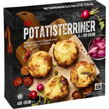 Potatisterriner Fryst 4-p 400g ICA